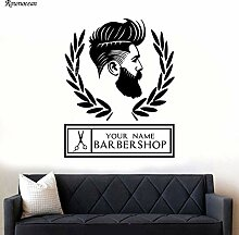 zqyjhkou Personalisierte Shop Name Für Friseur