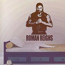 zqyjhkou Roman Reigns Wandtattoo Wrestlemania WWE