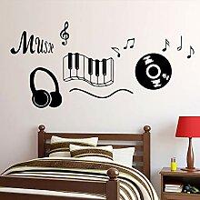 zqyjhkou Schlagen Musik Symbol Design