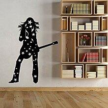 zqyjhkou Vinyl Wand Applique Silhouette Mädchen