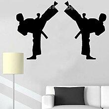 zqyjhkou Zwei Jungen Karate Sport Kick
