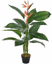 Zqyrlar - Künstliche Pflanze Strelitzia mit Topf