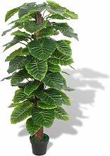 Zqyrlar - Künstliche Taro-Pflanze mit Topf 145 cm