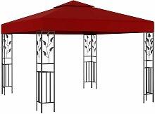 Zqyrlar - Pavillon 3x3 m Weinrot