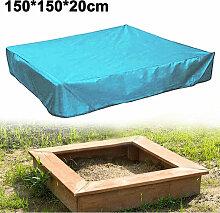 Zqyrlar - Sandkasten-Abdeckung, quadratische