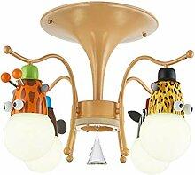 ZQYY 9W LED Karikatur Kinderzimmer Deckenlampe