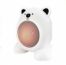 ZR Elektroheizung Kleine Sonne Heizdraht Fieber Bär Modellierung ( Farbe : Weiß )