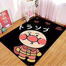 ZRY Teppich Rechteck Cartoon Kinderzimmer Teppich