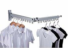 ZRZJBX Kleiderhaken Klappbar Aussenbereich