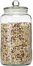 Zsail Glasdose mit Deckel Klar Vorratsdosen Glas
