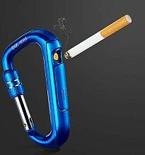 ZSAIMD Elektrisches USB-Feuerzeug Metall Tragbarer