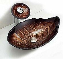 ZSDGY Leaf Art Becken/Über