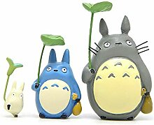 ZSTCO Mein Nachbar Totoro Figuren Spielzeug Kit,