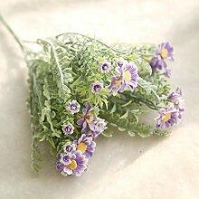 ZTTLOL Daisy Künstliche Blumen Bouquet Simulation