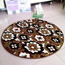 Zu Hause Mode Dekoration Teppich weichen und bequemen Korallen Computer Stuhl runden Schlafzimmer Kinder Cartoon Matten , 6 , diameter 160cm