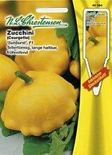 Zucchini Sunburst F1 (Portion inkl. Stecketikett)