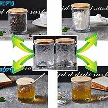 Zuckerdose Honigglas – mit 4 versiegelten &