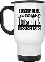 Zudrold Elektroingenieur Reisebecher -