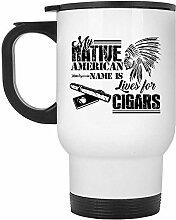 Zudrold-Zigarren-Reise-Becher - mein Name des
