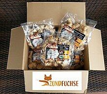 Zündfüchse Premium Beutel 5 kg (ca. 400 Stück) Bio Holzwolle Anzünder Kaminanzünder Grillanzünder Ofenanzünder Holzanzünder Bioanzünder