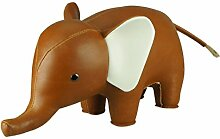 Züny Elefant Buch- und Türstopper Groß Braun (Elephant tan)