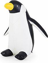 Züny Pinguin Buch- und Türstopper Schwarz & Weiß