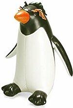 Züny Pinguin Macaroni Buch- und Türstopper schwarz/weiß