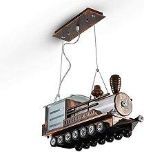 Zug Pendelleuchte Cartoon Lokomotive Hängelampe