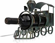 Zug Weinflaschenhalter Eisen-Kunst-Metall Creativ