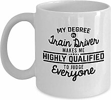 Zugführer Kaffee-Haferl Geschenk für Fahrer