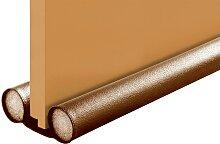 Zugluftstopper, WENKO 2x 13x80 cm, Kunststoff, 3,8