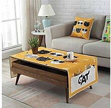 Zuhause Rechteck Baumwolle Leinen Tischdecke