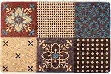 Zuhause willkommen Willkommen im Kreis der rechteckigen rutschfesten Matratze mehrfarbig ( Farbe : 3# , größe : 60*90cm )