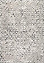 Zuiver Miller Teppich 170x240 Grau (b) 170.00 X