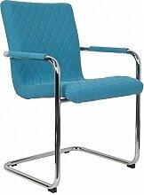 Zuiver Stuhl Rally aus Stoff Gestepp