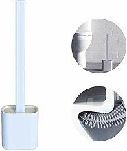 ZUKIBO Flexible Silikon-WC-Bürste mit