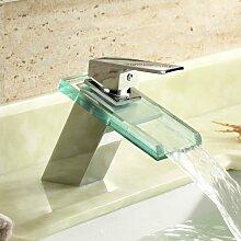 ZULUX Tmaker- Wasserfall Waschbecken Wasserhahn