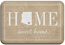 zunhuagong Personalized Welcome Home Arizona Jute