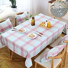 ZUOANCHEN Tischdecken Baumwoll-Leinen