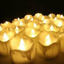 Zuoao 12er Set LED Kerzen Batteriebetriebene mit