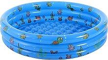 Zuoox Aufblasbarer Pool, Schwimmbad, 3 Ringen