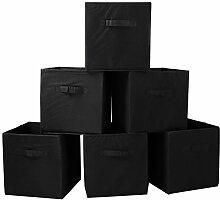 Zusammenfaltbare Aufbewahrungsbox/Stoff-Würfel