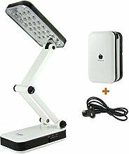 Zusammenklappbare LED Akku Lampe Schreibtischlampe