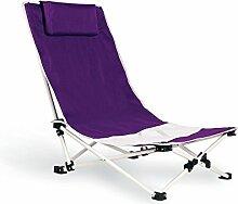 Zusammenklappbarer Strandstuhl , viole