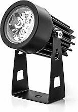 Zusatz LED Gartenstrahler LEDGL1 mit Erdspieß