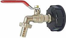 ZVBEP Garten Leitungswassertank Adapter