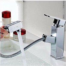 ZVBEP Garten Wasserhahn Badezimmer Waschbecken