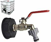 ZVBEP Gartenhahn Wassertank-Ablassanschluss