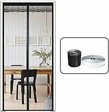 ZWANL Fliegengitter Tür Magnet Vorhangtür, ohne