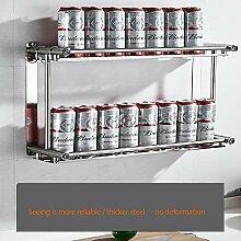 Zwei Stockwerke Küchenregal Regal Küchenablage